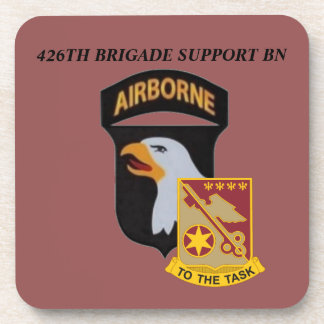 426TH BDE SUPPORT BN 101ST AIRBORNE DRINK COASTERS