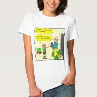 428 girl scout dentist cartoon t shirt