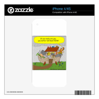 429 Youre gay better tell noah cartoon Skins For The iPhone 4S
