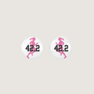 42.2 Marathon Girl Customizable Earrings