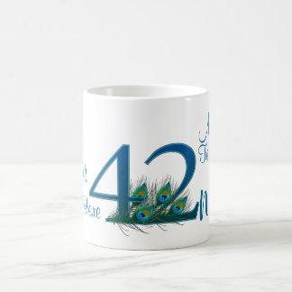 # 42- 42nd Wedding Anniversary or 42nd Birthday Coffee Mug