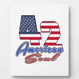 42 American Soul Birthday Designs Display Plaques