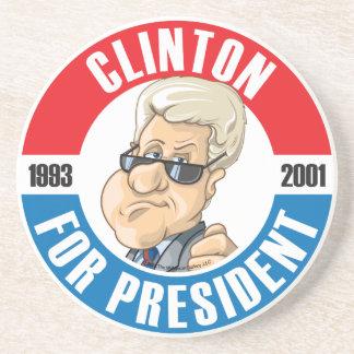 #42 Bill Clinton Campaign Coaster
