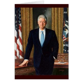 42 Bill Clinton Card