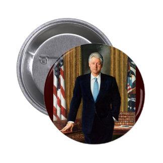 42 Bill Clinton Pinback Button