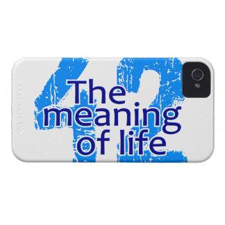 42 el significado de la casamata del iPhone 4 de iPhone 4 Case-Mate Cárcasa