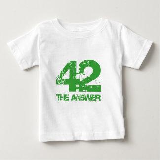 42 es la camiseta de la respuesta playera