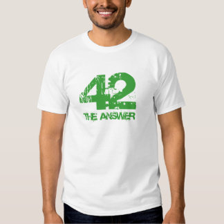 42 es la camiseta de la respuesta remeras