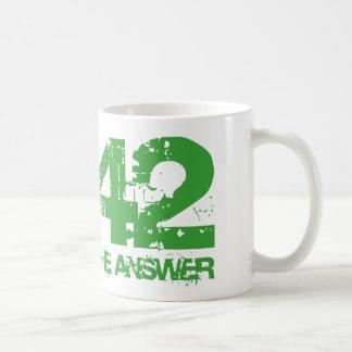 42 es la taza de la respuesta