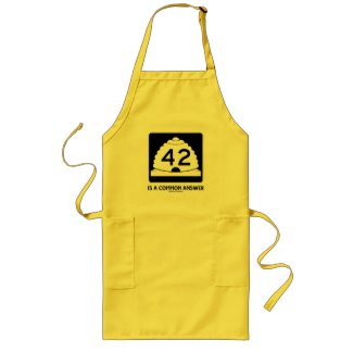 42 Is A Common Answer (Utah State Route 42) Apron