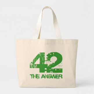 42 Is The Answer Tote Bag