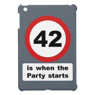 42 is when the Party Starts iPad Mini Cover