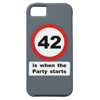 42 is when the Party Starts iPhone SE/5/5s Case