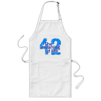 42 Meaning of Life apron - choose style & color