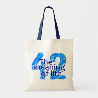 42 Meaning of Life bag - choose style & color