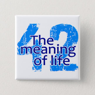42 Meaning of Life button