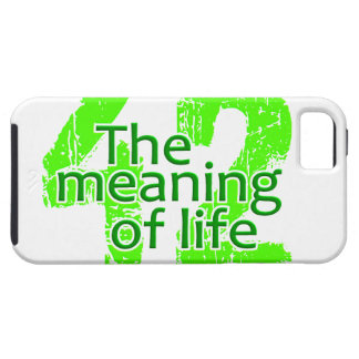 42 Meaning of Life iPhone Case-Mate iPhone 5 Cases