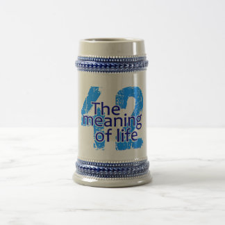 42 Meaning of Life mug - choose style & color