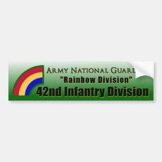42.o División de infantería Etiqueta De Parachoque
