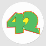 42 PEGATINA REDONDA