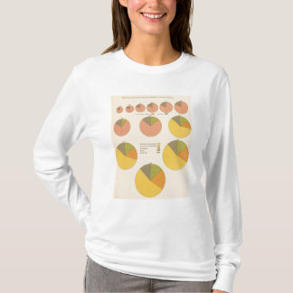 42 Population, elements 1790-1900 T-Shirt