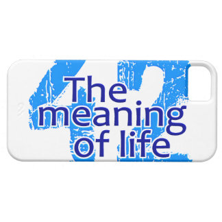 42 The Meaning of Life iPhone 5 Case-Mate iPhone SE/5/5s Case