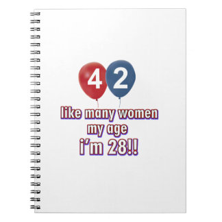 42 year old women designs notebook