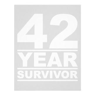 42 year survivor letterhead