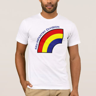 42d Infantry Division shoulder patch T-shirt