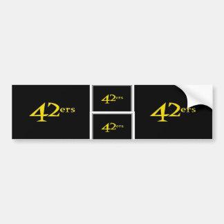 42ers Bumper Stickers