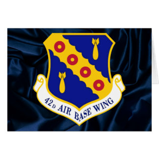42nd Air Base Wing Card