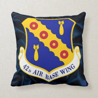 42nd Air Base Wing Throw Pillow