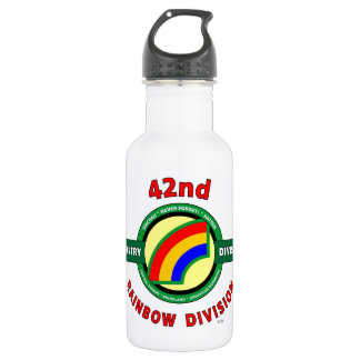 "42ND INFANTRY DIVISION ""RAINBOW"" 18OZ WATER BOTTLE"