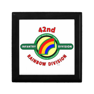 """42ND INFANTRY DIVISION """"RAINBOW"""" GIFT BOXES"""