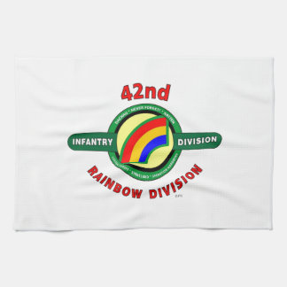 """42ND INFANTRY DIVISION """"RAINBOW"""" KITCHEN TOWEL"""