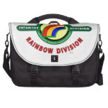 """42ND INFANTRY DIVISION """"RAINBOW"""" LAPTOP COMPUTER BAG"""