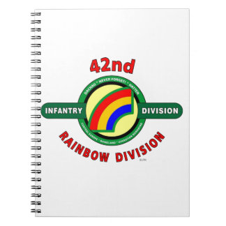 """42ND INFANTRY DIVISION """"RAINBOW"""" NOTEBOOK"""