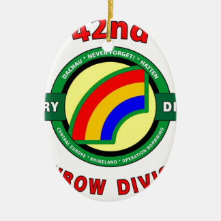 """42ND INFANTRY DIVISION """"RAINBOW"""" ORNAMENT"""