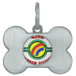 """42ND INFANTRY DIVISION """"RAINBOW"""" PET ID TAGS"""