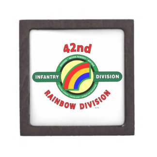 """42ND INFANTRY DIVISION """"RAINBOW"""" PREMIUM JEWELRY BOXES"""