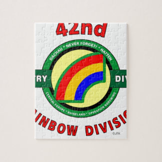 """42ND INFANTRY DIVISION """"RAINBOW"""" PUZZLES"""