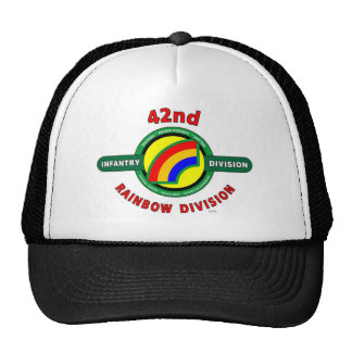 "42ND INFANTRY DIVISION ""RAINBOW"" TRUCKER HAT"