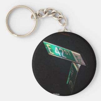 42nd Street Keychain