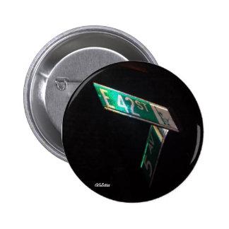 42nd Street Pinback Button