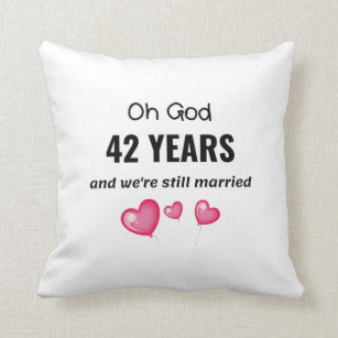 For 42nd Anniversary Gifts On Zazzle