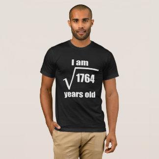 42th Birthday Square Root T-Shirts