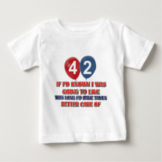 42th year designs baby T-Shirt