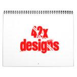 42x diseña el calander calendarios