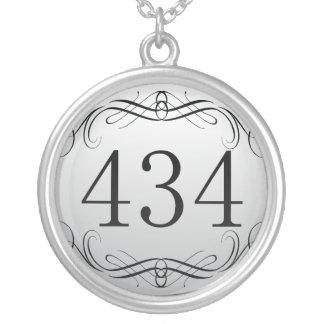 434 Area Code Pendant