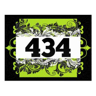 434 TARJETA POSTAL